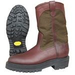 "Hoffman 10"" Roper EH Safety Toe Pull-On Boot"