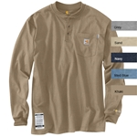 Carhartt Force Cotton Henley FR Shirt