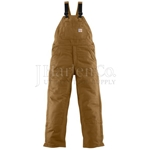Carhartt FR Mid-Weight Quilt-Lined Bib Overall CLOSEOUT