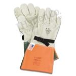 "Kunz 15"" High Voltage Leather Glove Protector"