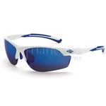 Crossfire AR3 Blue Mirror Lens Safety Glasses