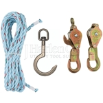 Klein 25Ft Block & Tackle Set With Swivel Hook