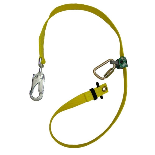 Buckingham 6' Adjustable Web Lanyard with WebGrab