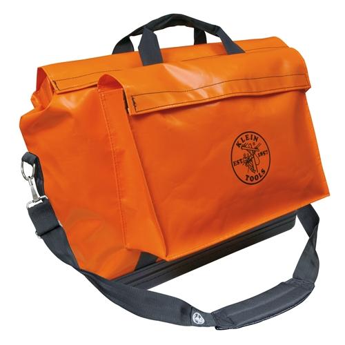 Klein Waterproof Large 24 Orange Equipment Bag