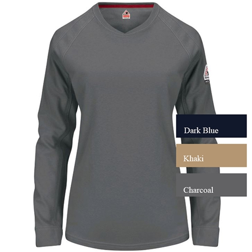 Bulwark iQ Series® Women's Long Sleeve Tee QT31