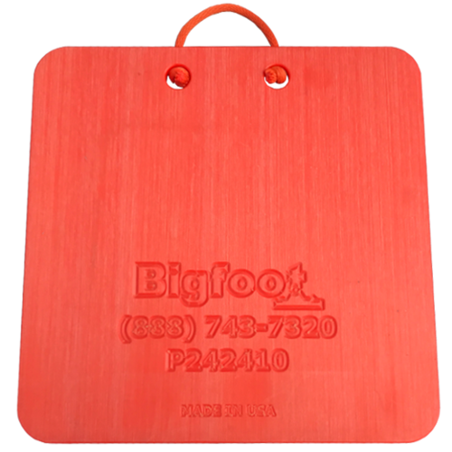 Bigfoot Composite Outrigger Pad 24x24 (1-inch Thick) P242410.OR