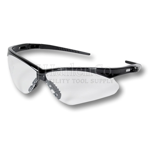 Nemesis Clear Wrap-Around Safety Glasses