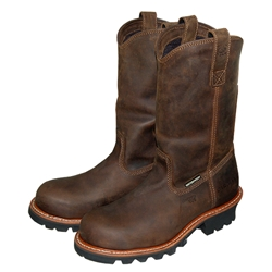 Carolina Pull On Logger Boots   J Harlen Co